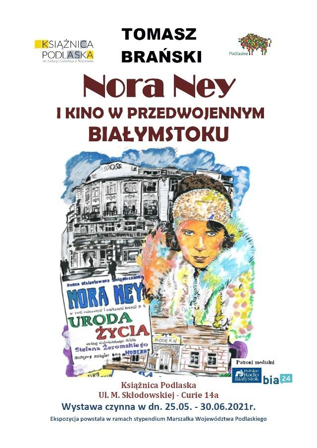 Białostocki rysownik i karykaturzysta powraca do swojej ulubionej tematyki - polskiego kina przedwojennego. Swoje prace poświęcone Norze Ney zaprezentuje 25 maja.