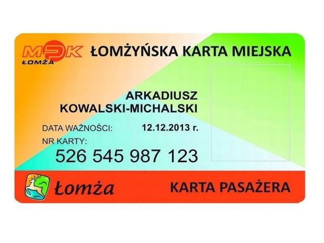 Taki wygląd biletu elektronicznego to na razie propozycja MPK. Będzie można zdecydować czy umieścimy na nim swoje zdjęcie czy nie.
