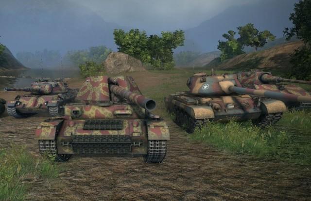 World of TanksGrający w World of Tanks na brak nowych maszyn raczej nie mogą narzekać.