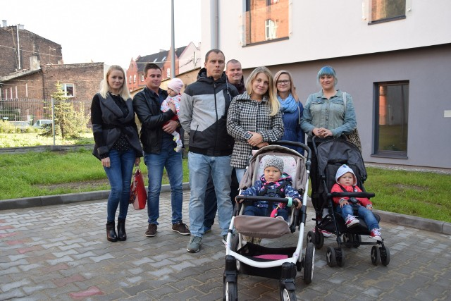 Rodziny zobaczyły po raz pierwszy swoje mieszkania
