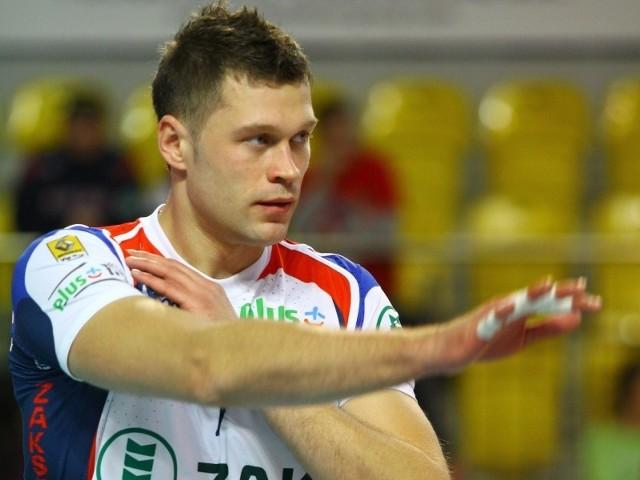 Patryk Czarnowski powinien wrócić do gry na ostatni mecz rundy zasadniczej z AZS-em Olsztyn.