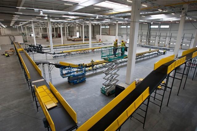 Nowe centrum logistyczne firmy Amazon w Bielanach Wrocławskich