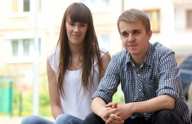 MATURA 2014 - JĘZYK POLSKI. Odpowiedzi dziś na gs24.pl! Anna Sierakowska i Patryk Zemankiewicz z Zespołu Szkół Nr 6 w Szczecinie ostatnie dni przed maturą poświęcili na powtórki