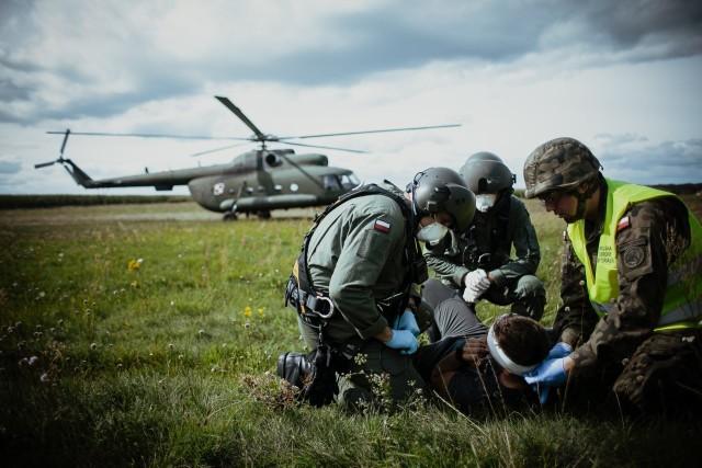 Były to pierwsze w historii WOT ćwiczenia, w czasie których przeprowadzono symulację wypadku lotniczego