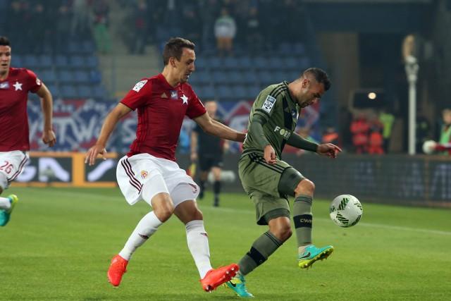Denis Popović nie wykorzystał w drugiej połowie meczu z Legią rzutu karnego