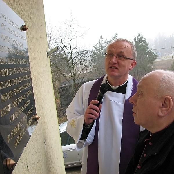 To, co się przeszło, to dla Kościoła, nie ma co żałować – mówił ks. Piotra Zabielski (z prawej)
