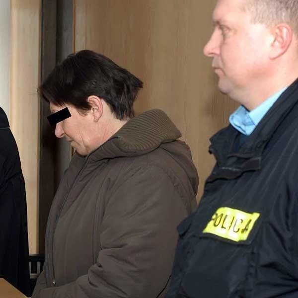 Helena O. wysłuchała wyroku bez emocji. Wcześniej płakała, mówiąc, że żałuje tego, co się stało.
