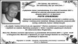 Zmarł Piotr Oparowski. Ceniony nauczyciel z Opatowa