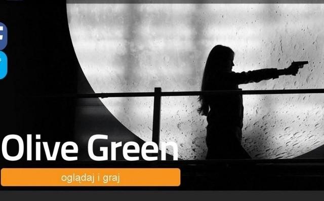 """""""Olive Green"""" to trzy w jednym - kryminał, gra i kurs językowy"""