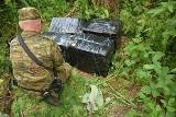 Nieudany przemyt papierosów. Przemytnika zatrzymano w lasach sobiborskich