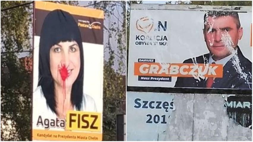 Wybory 2018 W Lublinie I Regionie Zniszczone Plakaty