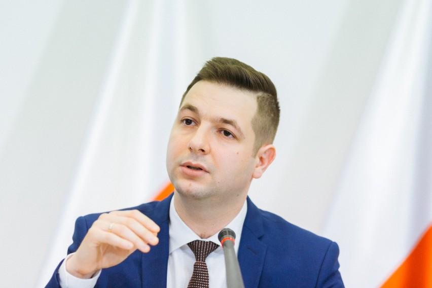 Patryk Jaki, wiceminister sprawiedliwość i opolski poseł Zjednoczonej Prawicy.