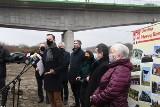 Władysław Kosiniak - Kamysz i Adam Jarubas na otwarciu mostu w Nowym Korczynie [WIDEO, ZDJĘCIA]