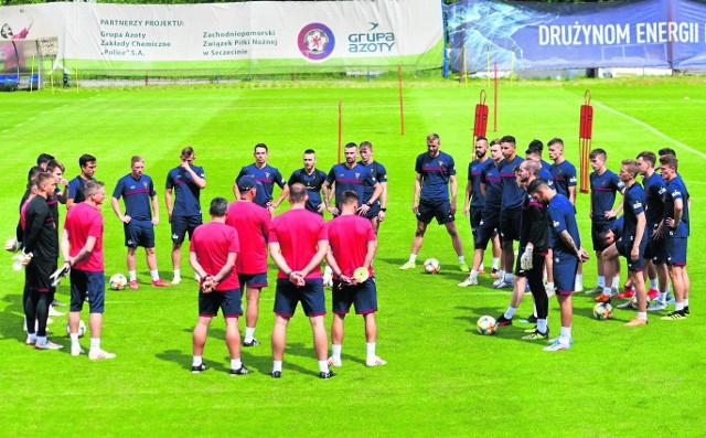 We wtorek początek przedostatniego tygodnia przygotowań Portowców do meczu z Legią