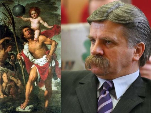 Św. Krzysztof będzie patronem nowego ronda. Wniosek o nazwanie go imieniem Krzysztofa Putry został wycofany.