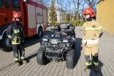 Strażacy na quadzie! Nowe pojazdy trafiły pod skrzydła ratowników ZDJĘCIA
