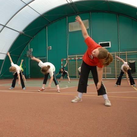 Tak dobrej sali sportowej, jaka ta przy podstawówce w Przyborowie, nie ma wiele szkół w mieście.