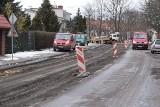 Rozpoczął się remont ulicy Wojska Polskiego w Kielcach. Są utrudnienia. Zobacz zdjęcia i film