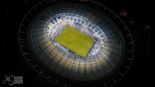 Nocna iluminacja Stadionu Śląskiego (KosmodronPhotography)