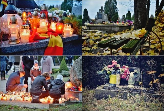 Cmentarze w Dniu Wszystkich Świętych przeżywają oblężenie. Nie inaczej było na cmentarzu miejskim. Choć największe tłumy można było zobaczyć rano, popołudniu również nie brakowało osób, którzy przyszli odwiedzić swoich zmarłych bliskich.
