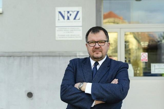 Tomasz Piechniczek na razie zostanie na stanowisku dyrektora SP ZOZ Lubliniec.