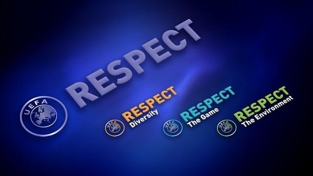 Respekt i szacunek to oficjalne hasło Euro 2012