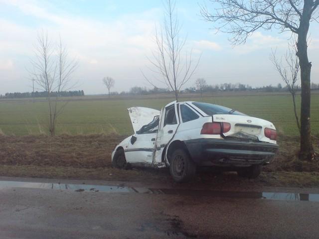 Wypadek na drodze 689Wypadek na drodze 689