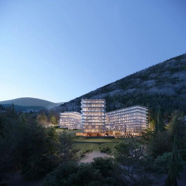 Crystal Mountain Resort w Wiśle - nowy pięciogwiazdkowy hotel w Beskidach
