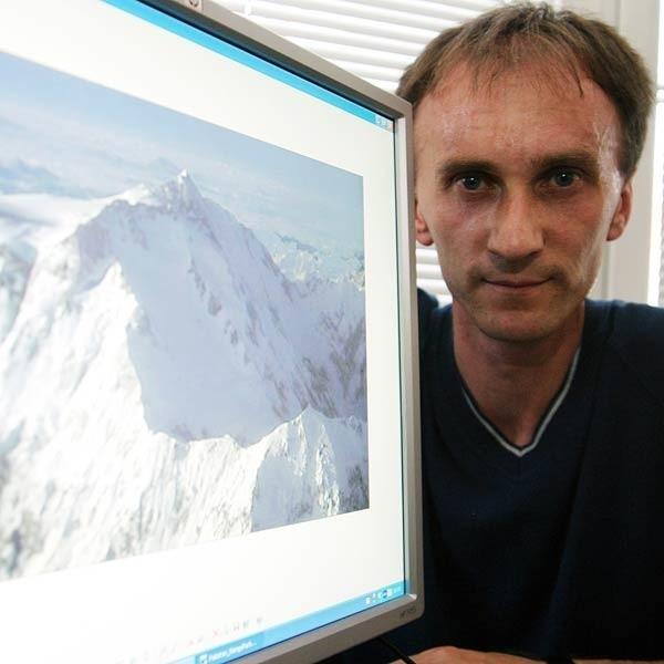 - Wspinaczka to moja największa miłość. W górach czuję, że żyję - mówi Wojciech Figiela.