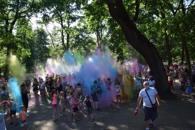 Święto kolorów w Zawierciu.
