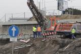 Przebudowa DK94 w Sosnowcu: uwaga, od 16 stycznia kolejne zmiany w organizacji ruchu! Przejście dla pieszych będzie w innym miejscu  ZDJĘCIA