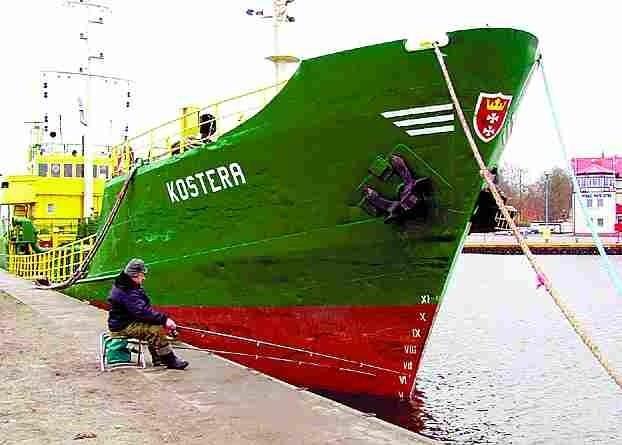 """Czy """"Kostera"""", pogłębiarka wykorzystywana przez polską spółkę, będzie czerpać bałtycki muł? Poczekamy, zobaczymy…"""