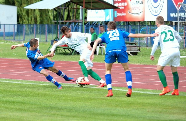 Wda Świecie przegrała z Wartą PoznańWda przegrała z Wartą 0:1 (0:1)