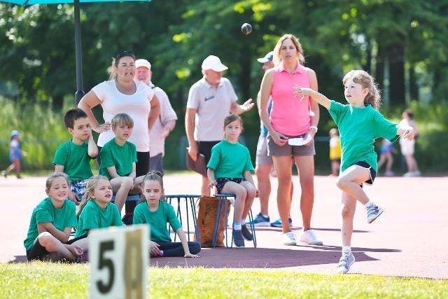 Trójbój lekkoatletyczny dla uczniów wrocławskich szkół podstawowych na Stadionie Olimpijskim