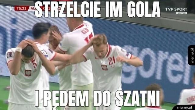 Mecz Albania - Polska 0-1. Najlepsze MEMY ze spotkania. Internauci podsumowali mecz