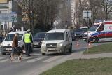 Wypadek na Borowskiej. Ranna starsza kobieta