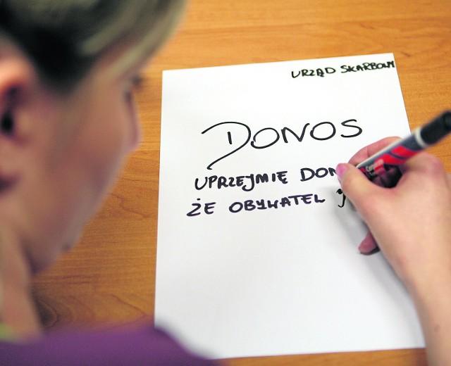 Do Urzędu Kontroli Skarbowej w Katowicach wpływa coraz więcej donosów. Większość z nich jest anonimowa
