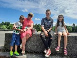 Festyn dla rodzin zastępczych w Parku Kultury i Wypoczynku w Słupsku