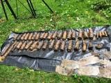 Park podworski w Skołyszynie naszpikowany materiałami wybuchowymi [ZDJĘCIA]