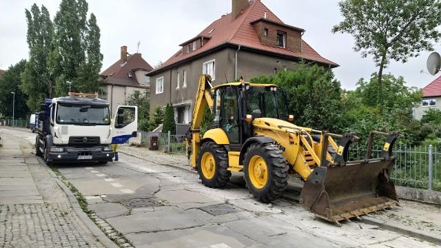 Rozpoczęto remont dróg na terenie dzielnicy generalskiej w Opolu. Na początek ul. Dwernickiego