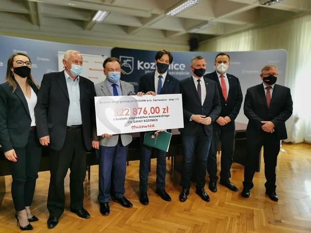 Umowę na dofinansowanie podpisano w siedzibie Urzędu Miasta i Gminy w Kozienicach.