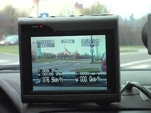 Wyczyny tirowca nagrała kamera Inspekcji Transportu Drogowego na trasie pod Świebodzinem.