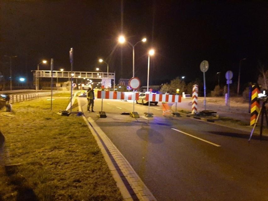 Lubieszyn DK10 zamknięcie przejazdu przez Granicę Państwa