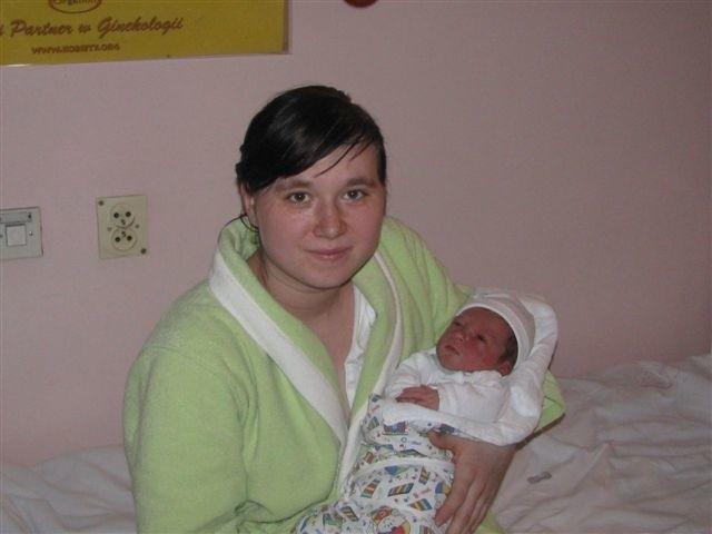 Paulina Piędzio z Dąbrowy nadała swojemu synowi, urodzonemu 13 stycznia, imię Jakub. Nie wiedziała, że to tak popularne imię, ale zupełnie jej to nie przeszkadza