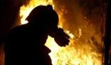 Pożar w Rybniku. W płomieniach zginęły kury i gołębie. Zapaliła się szopa ze zwierzętami