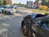 Wrocław: Wypadek na Tarnogajskiej. Kia zderzyła się z tramwajem