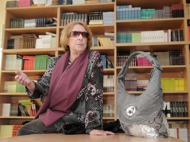"""była gościem Książnicy Kopernikańskiej w ramach projektu """"Literatura na kółkach"""""""