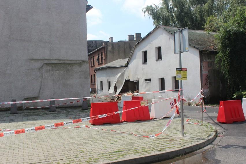 Zawaliła się ściana restauracji Kurna Chata w Tarnowskich...