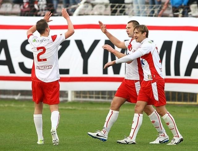 Piłkarze ŁKS pewnym krokiem zmierzają do III ligi.