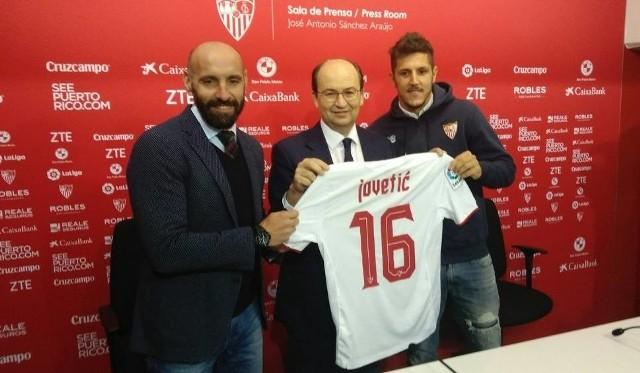 W zimowym okienku Jovetić przeszedł z Interu do Sevilli